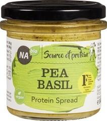 Proteine spread erwten basilicum