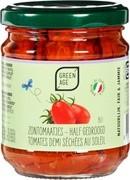 halfgedroogde tomaatjes olie