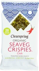 Seaveg crispies chilli nori snack