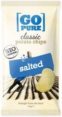 Classic chips salted