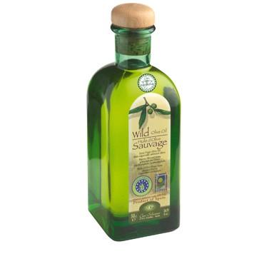 Wilde olijfolie (traditioneel geperst)