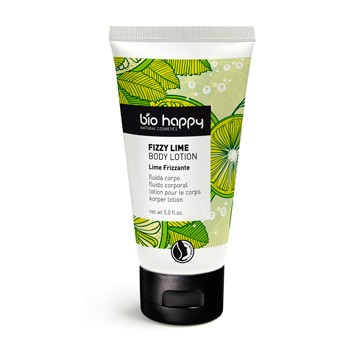 Fizzy lime body lotion
