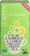 jasmine & lemon green tea
