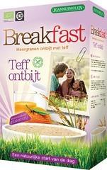 Breakfast teff ontbijt