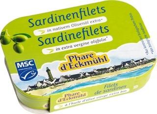 Sardinefilets in extra vergine olijfolie