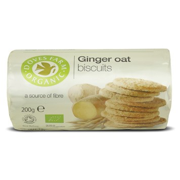 biscuits ginger oat