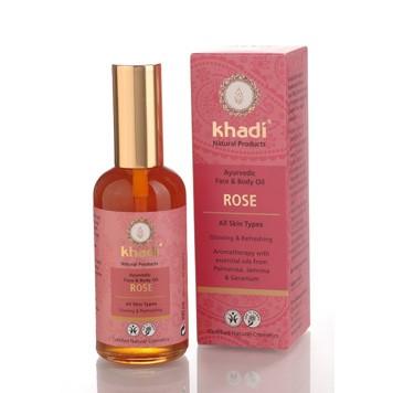 face & body oil rose