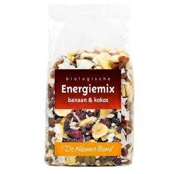 Energiemix banaan kokos