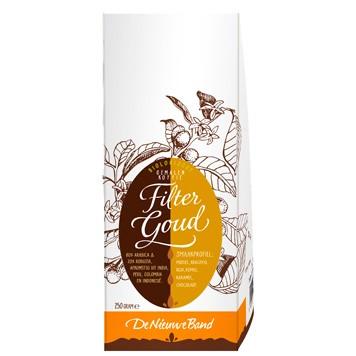 filterkoffie goud (gemale