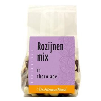 Rozijnen-mix (in chocolade)