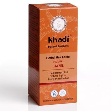 Hair colour natural hazel