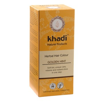 Hair colour golden hint