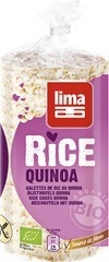 rijstwafels met quinoa