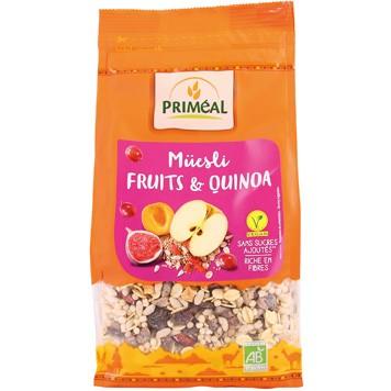 Quinoa-muesli chocolade