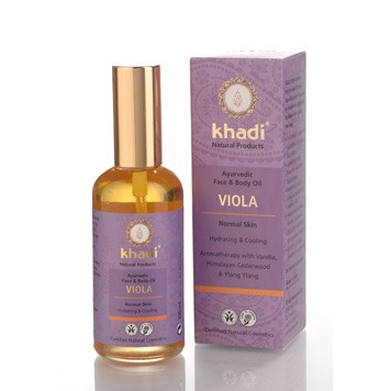 face & body oil viola
