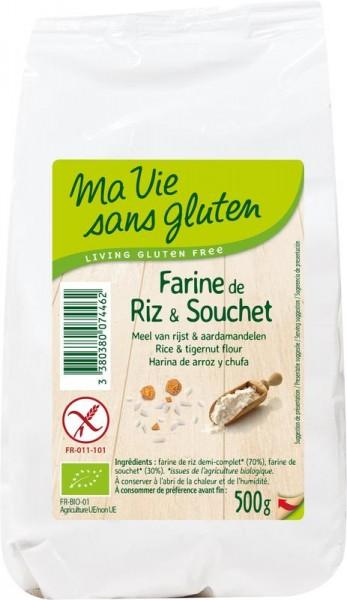 meel rijst aardamandelen - glutenvrij