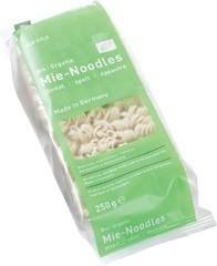 Mie noodles spelt