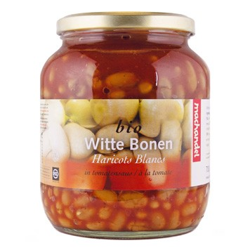 Witte bonen in saus