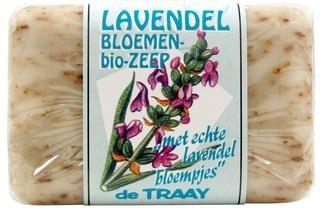lavendel bloemen zeep