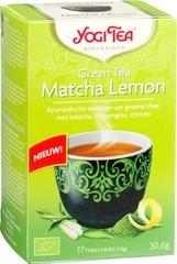 Green tea matcha lemon