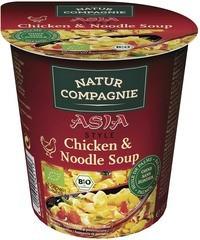asia chicken - noodle soup