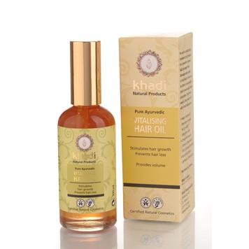 Vitalizing hair oil