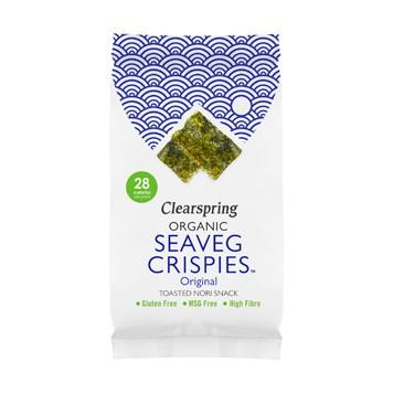 Seaveg crispies original nori snack