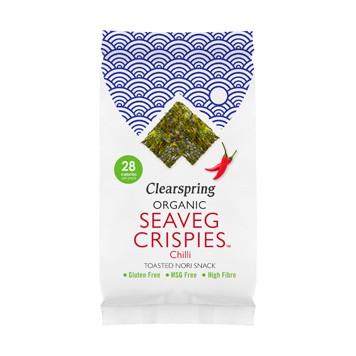Seaveg crispies chilli nori snack
