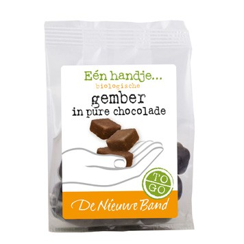 Gember in pure chocolade