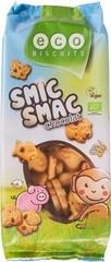 smic-smac koek met chocolade
