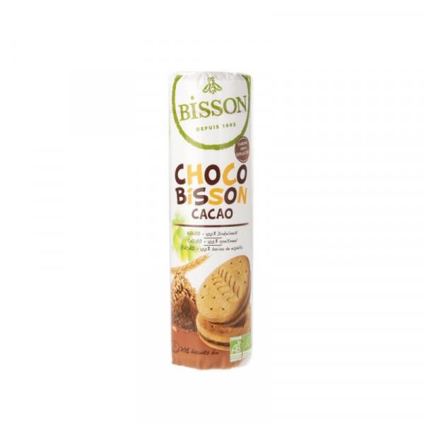 Choco bisson speltkoekjes met chocovulling