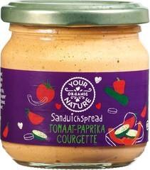 Sandwichspread tomaat-paprika-courgette