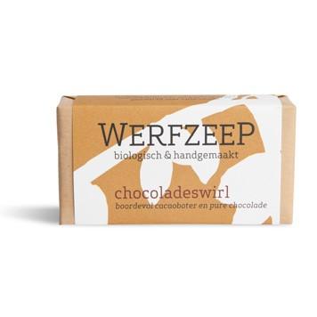 Chocoladeswirl zeep