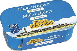 Makreelfilet naturel