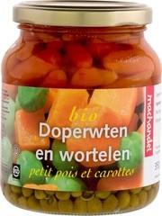 Doperwten en wortel