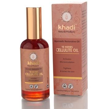 10 herbs cellulite oil