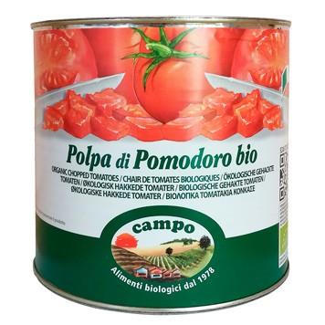 Gehakte tomaten (blik) grootverpakking